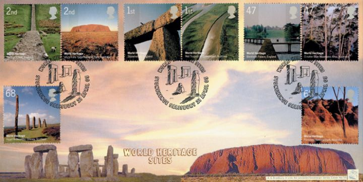 World Heritage Sites, Stonehenge & Ayres Rock