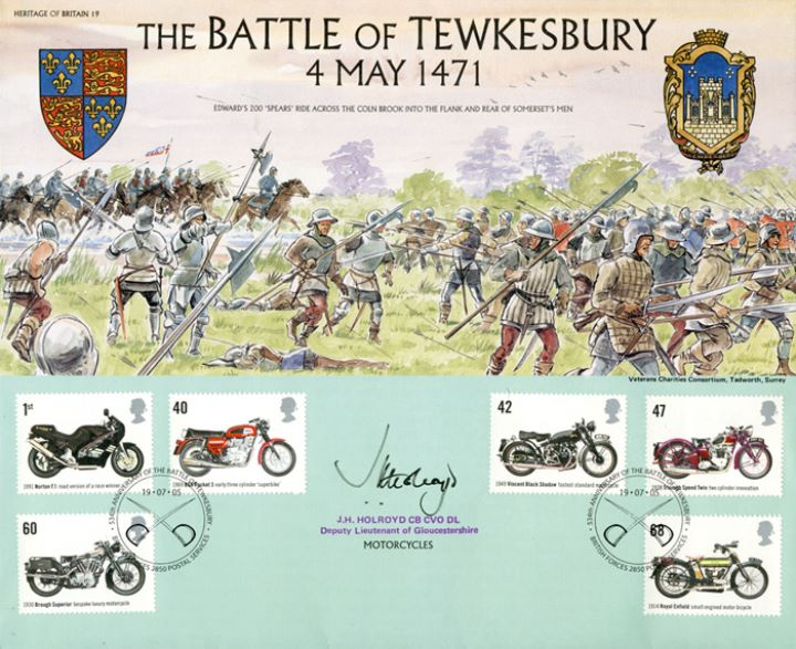 Motorcycles, The Battle of Tewkesbury