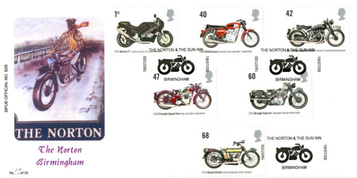 Motorcycles, The Norton