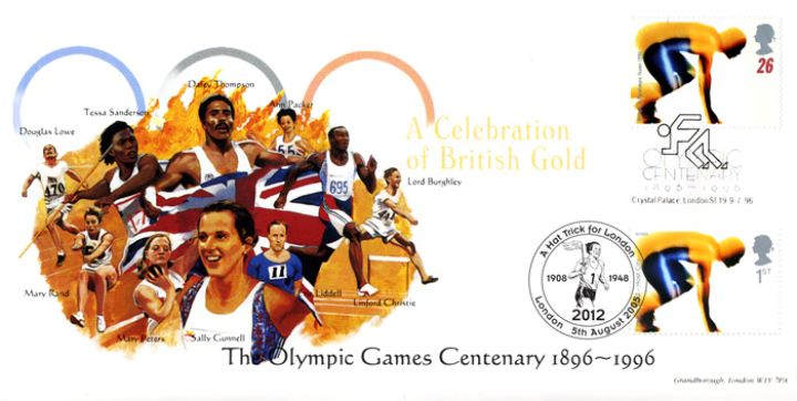 London 2012: Miniature Sheet, Our Olympic Heroes: Set of 5 Covers