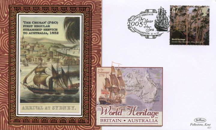 World Heritage Sites, Steamship Service to Australia
