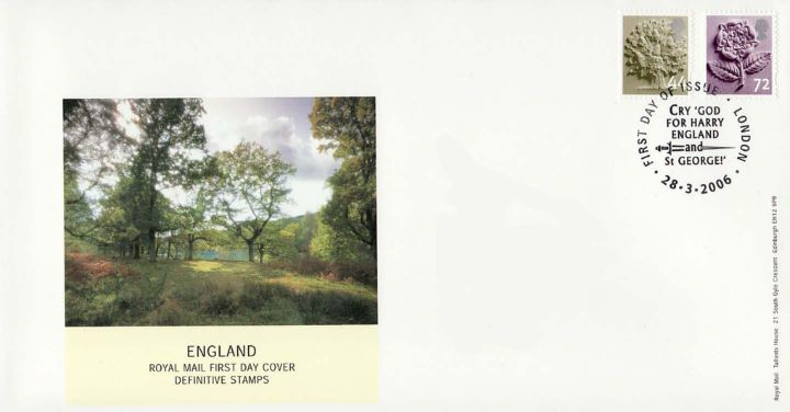 England 44p, 72p, Wooded Meadow
