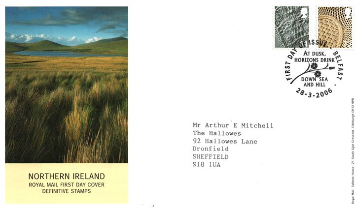 Northern Ireland 44p, 72p, Wetlands