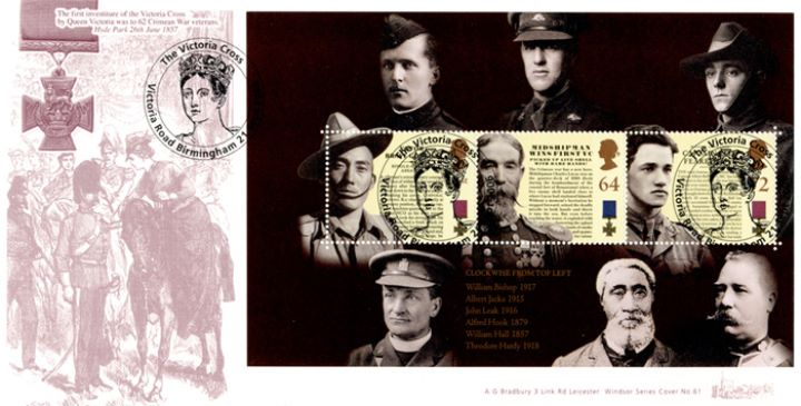PSB: Victoria Cross - Pane 1, Queen Victoria