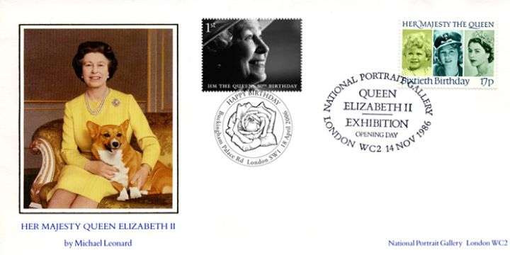 Queen's 80th Birthday, Double-dated cover