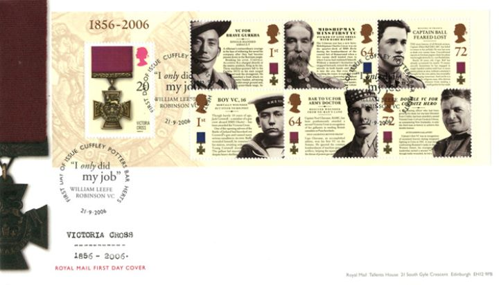 Victoria Cross: Miniature Sheet, Victoria Cross