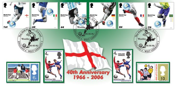 World Cup Winners, 40th Anniversary of 1966 World Cup