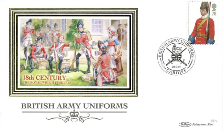 Army Uniforms, Royal Welch Fusiliers