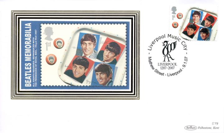 The Beatles: Miniature Sheet, Tea Tray