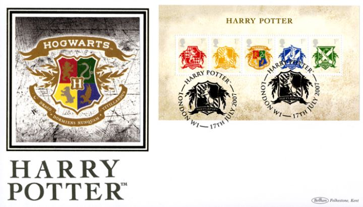 Harry Potter: Miniature Sheet, Hogwarts School Crest