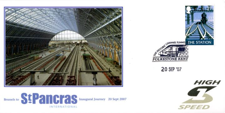 St Pancras International, Inaugural Journey - Brussels