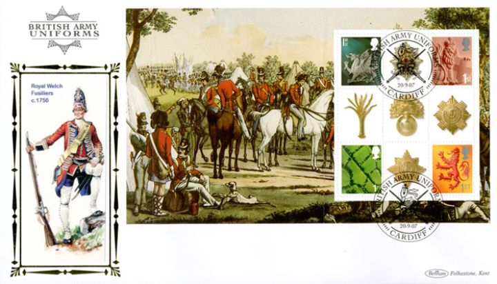 PSB: Army Uniforms - Pane 3, Royal Welch Fusiliers