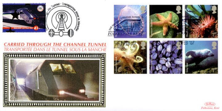 Sea Life, Historic Channel Tunnel