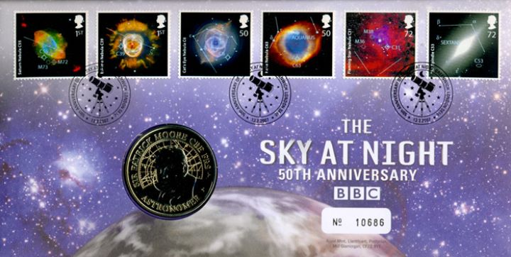 The Sky at Night, Medal Cover