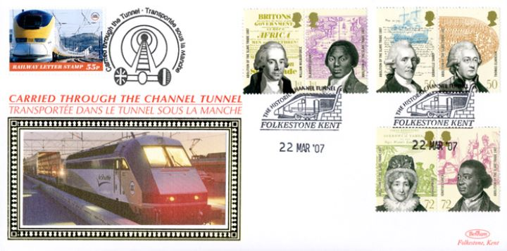 Abolition of the Slave Trade, Historic Channel Tunnel