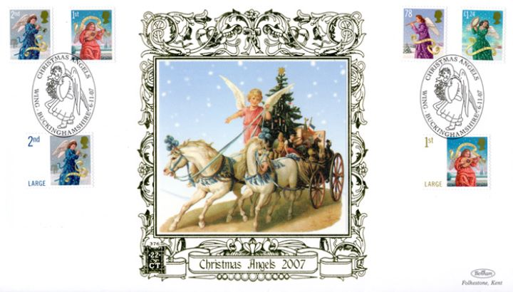 Christmas 2007, Horses and Carriage