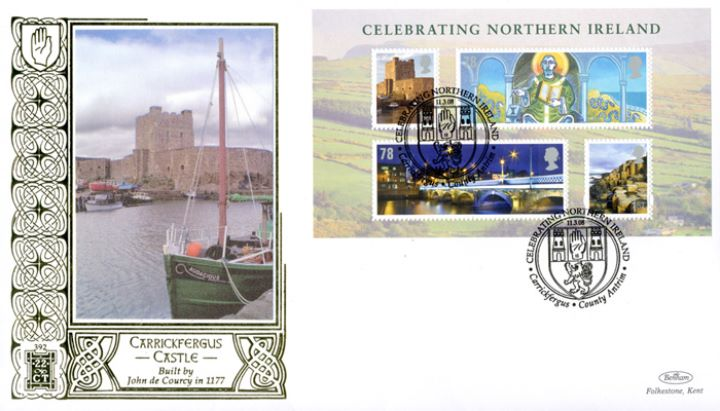Celebrating Northern Ireland: Miniature Sheet, Carrickfergus Castle