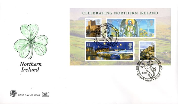 Celebrating Northern Ireland: Miniature Sheet, Shamrock