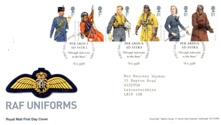 RAF Uniforms, Pilot Badge