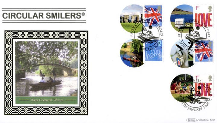 Smilers Round Format: Generic Sheet, River Cherwell