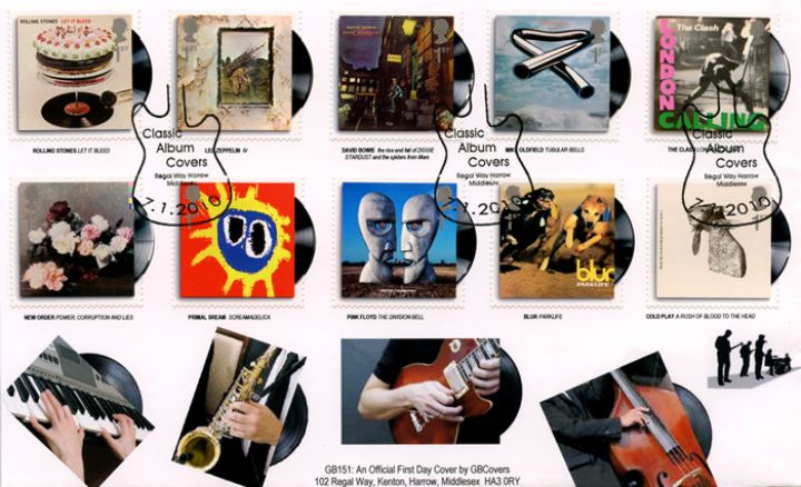 Stamp Collecting Classic Album Covers First Day Cover with Special