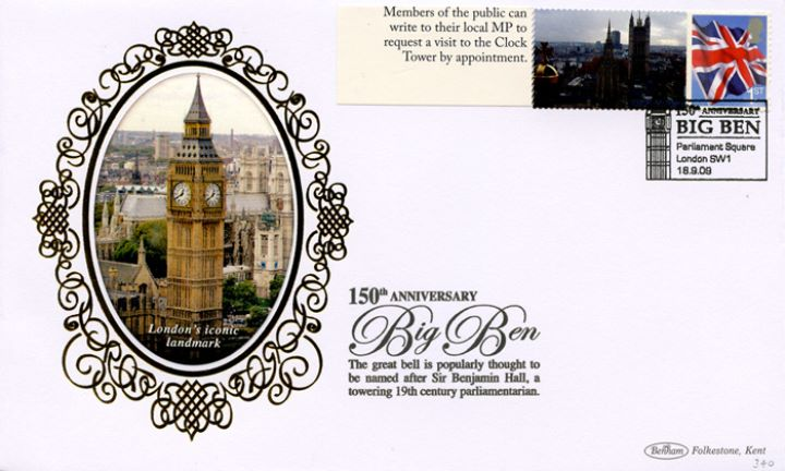 Big Ben [Commemorative Sheet], Iconic Landmark