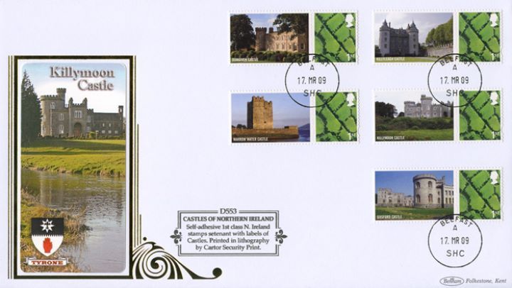 Castles - Northern Ireland: Generic Sheet, Killymoon Castle