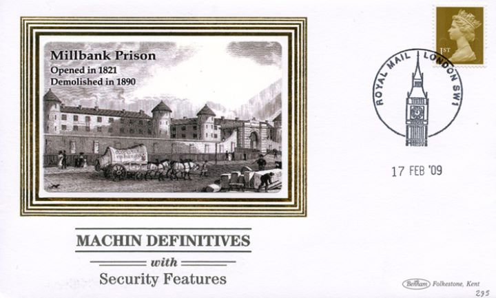 Machins (EP): Low Values Security Features, Millbank Prison