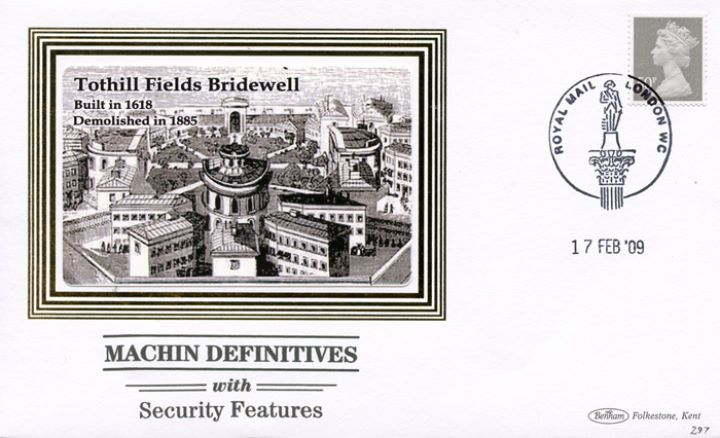 Machins (EP): Low Values Security Features, Tothill Fields Bridewell