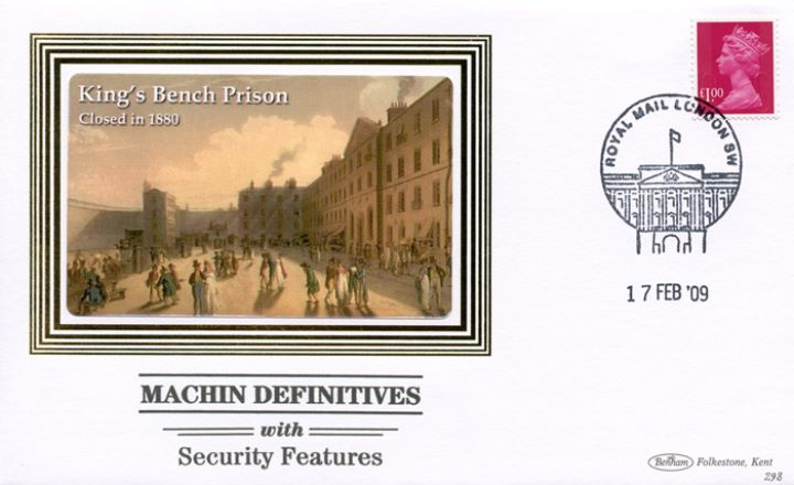 Machins (EP): Low Values Security Features, King's Bench Prison