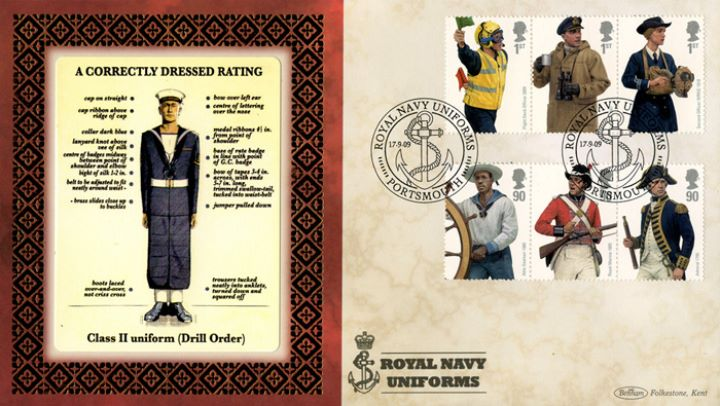 Navy Uniforms, Class II Uniform (Drill Order)