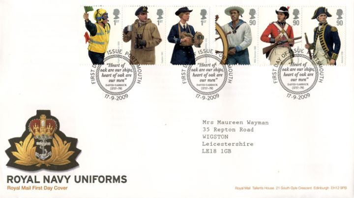 Navy Uniforms, Navy Cap Badge