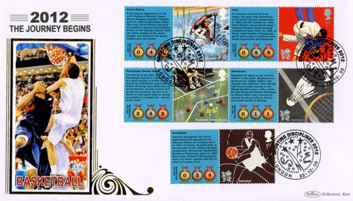 Olympic Games 1 [Commemorative Sheet], Basketball