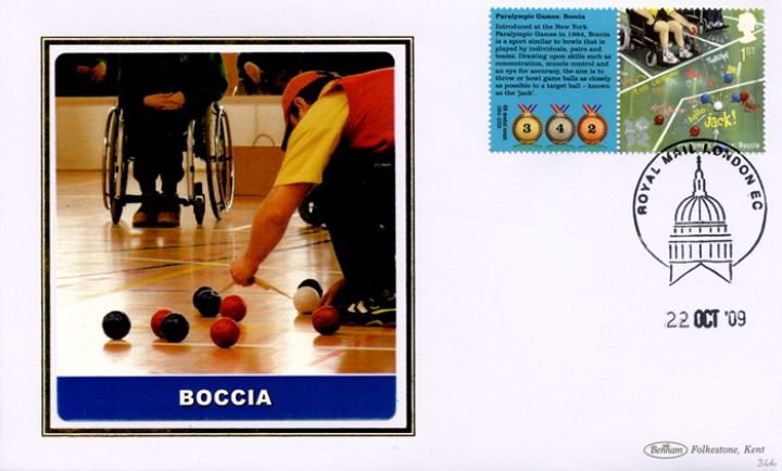 Olympic Games 1 [Commemorative Sheet], Boccia