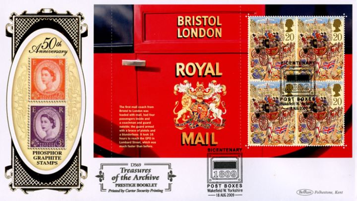 PSB: Post Boxes - Pane 2, Bristol-London Royal Mail