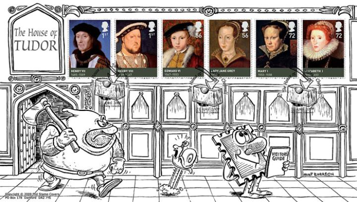 The Tudors, Off with your head!