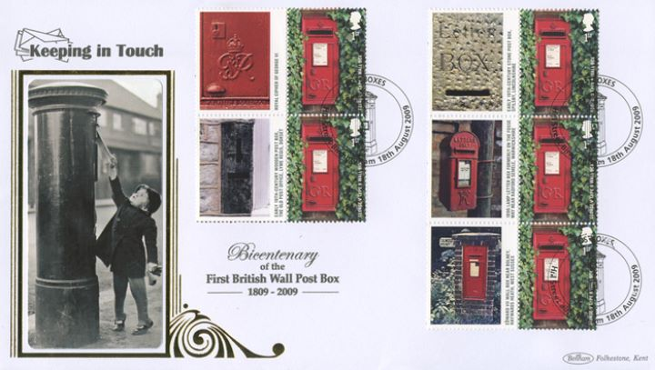 Post Boxes: Generic Sheet, Child posting letter