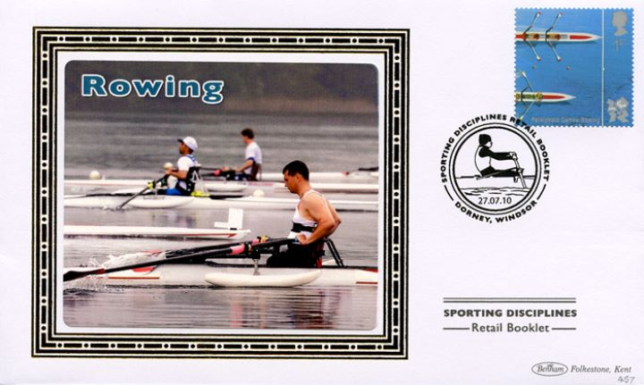 Self Adhesive: Olympic Games: Book No. 3, Rowing