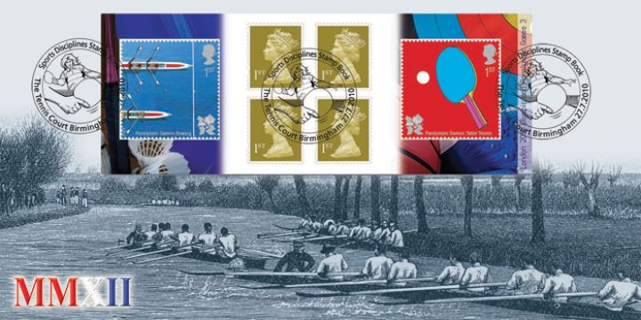 Self Adhesive: Olympic Games: Book No. 3, Rowing on the Thames