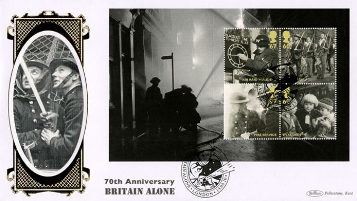 PSB: Britain Alone - Pane 3, Fire Fighters