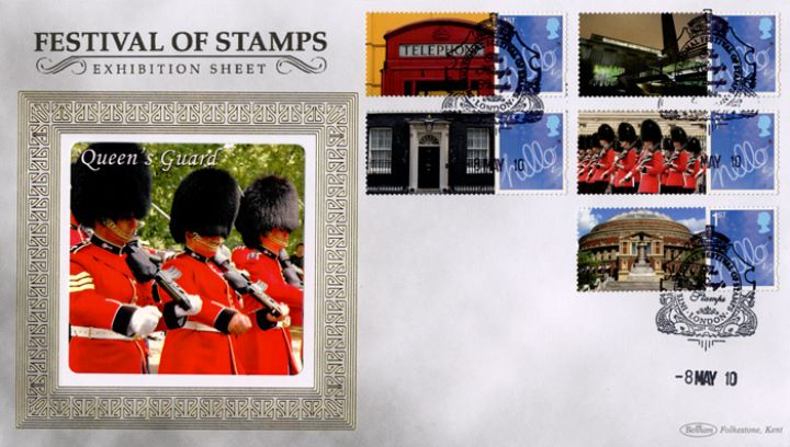 Festival of Stamps: Generic Sheet, Queen's Guard