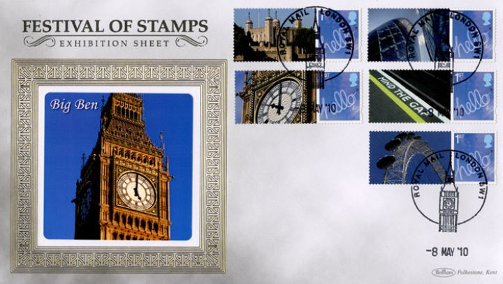 Festival of Stamps: Generic Sheet, Big Ben