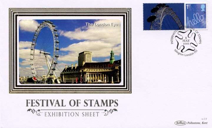 Festival of Stamps: Generic Sheet, The London Eye