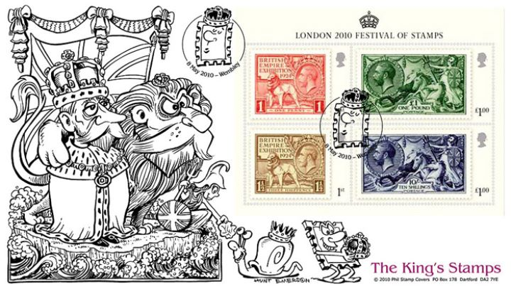 Festival of Stamps: Miniature Sheet, King and Lion