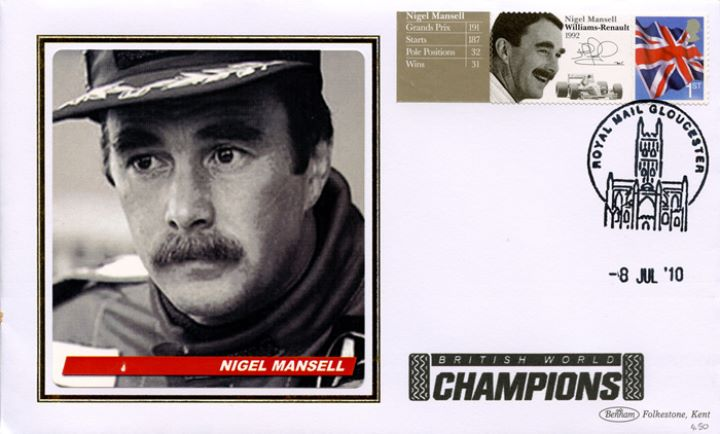 Grand Prix [Commemorative Sheet], Nigel Mansell