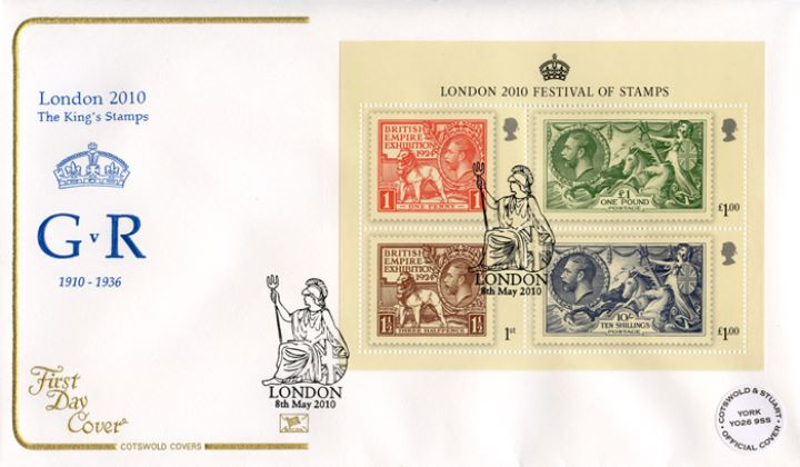 Festival of Stamps: Miniature Sheet, GvR Crown