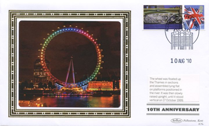 London Eye [Commemorative Sheet], Colours of the Rainbow