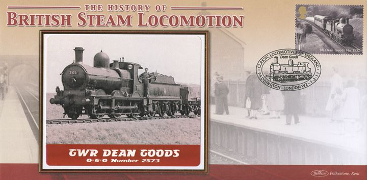Classic Locomotives: Series No.1: Miniature Sheet, GWR Dean Goods