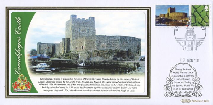 Castles - Northern Ireland: Generic Sheet, Carrickfergus Castle