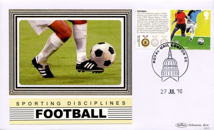 Olympic Games [Commemorative Sheet], Football